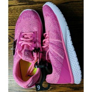 Athletic Works Girls Size 6 Lightweight Knit Shoes
